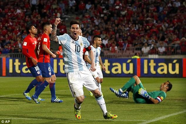 Messi và các cầu thủ Argentina liệu có thể đánh bại Chile thêm một lần nữa?