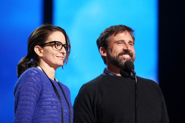 Tina Fey và Steve Carell