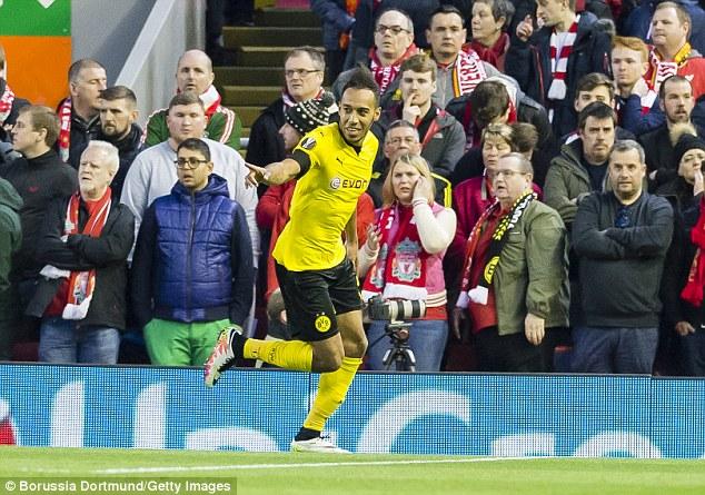Aubameyang đã có 40 bàn cho Dortmund mùa vừa qua trên mọi mặt trận.