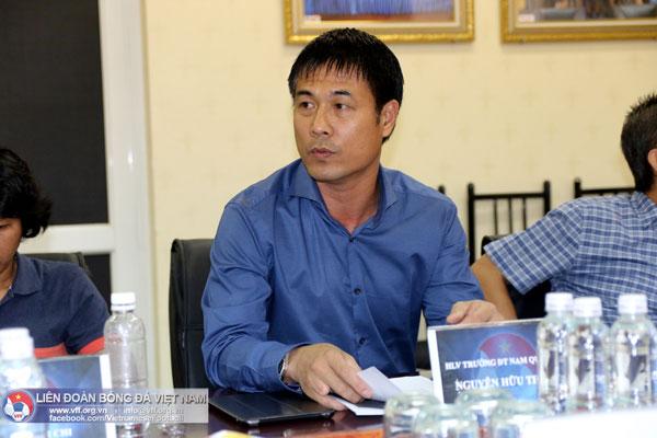 HLV trưởng ĐT Việt Nam Nguyễn Hữu Thắng