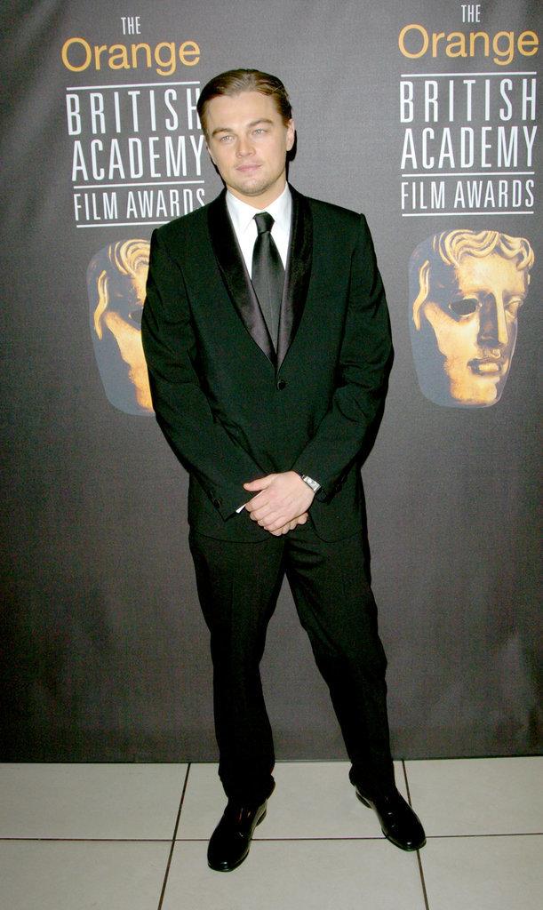 Nam diễn viên điển trai xuất hiện ở BAFTA Film Awards 2005.