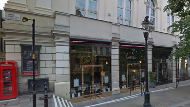 Cửa hàng Maxwell trên phố Covent Garden