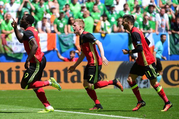 ĐT Bỉ sau thất bại trước Italy đã lấy lại vị thế của mình khi đánh bại CH Ireland lẫn Thuỵ Điển để giành vé đi tiếp. Ảnh: UEFA
