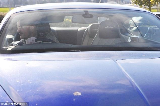Vardy mua chiếcBentley Continental GT với giá tương đương 2 tuần lương.