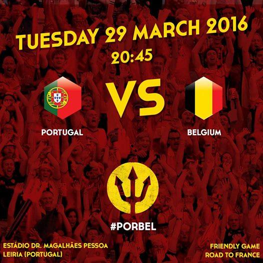 LĐBĐ Bỉ công bố lịch thi đấu trận giao hữu với BĐN.
