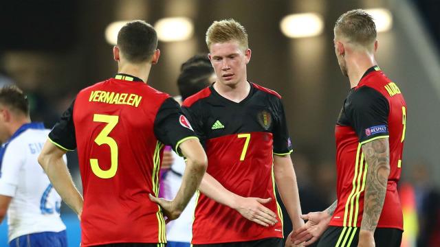 ĐT Bỉ cần quên đi thất bại trước Italy để hướng đến chặng đường phía trước tại EURO 2016. Ảnh: AP