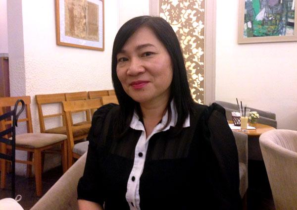 Kim Ngân nói, chị đang tìm kiếm người đàn ông phù hợp với mình (Ảnh: Nguyễn Hằng)