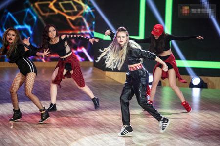 Hình ảnh cá tính của Mlee trong chương trình Bước nhảy hoàn vũ 2016.
