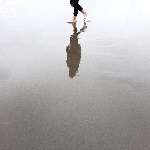 Ở những nơi có nước, bạn có thể chụp ảnh phản chiếu