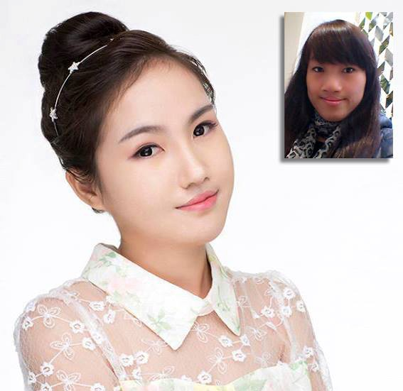 Hình ảnh của Nguyễn Ngọc Lê khi tham gia chương trình Change Life - Thay đổi cuộc sống mùa 1