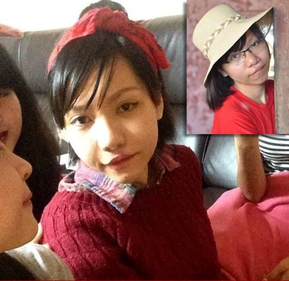 Trần Thùy Linh khi mới trở về từ Hàn Quốc. Cô vẫn chưa thực sự tự tin khi nở nụ cười.