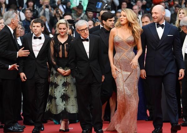 Ê-kíp phim Café Society - bộ phim được lựa chọn khởi động cho LHP năm nay.