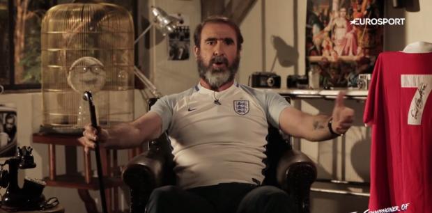 Eric Cantona muốn dẫn dắt ĐT Anh thay thế Roy Hodgson. Ảnh: Euro Sport