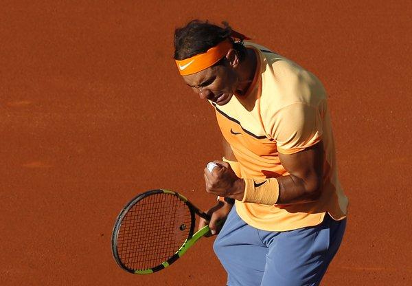 Nadal đã có cuộc thư hùng hấp dẫn với Nishikori (Ảnh: AP)