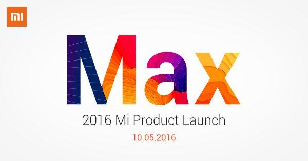 Xiaomi Mi Max sẽ chính thức ra mắt ngày 10/5/2016