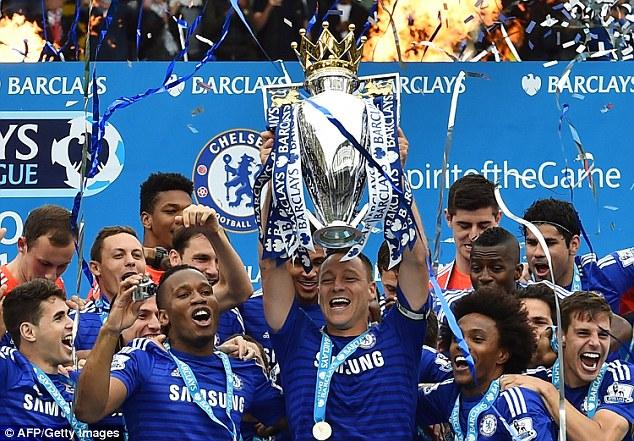 Chelsea là nhà vô địch ngự trị trên đỉnh BXH lâu nhất ở mùa 2014/15.
