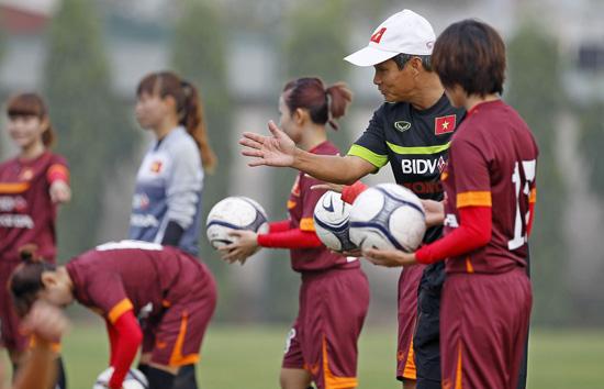HLV Mai Đức Chung sẽ tạo điều kiện ra sân cho các cầu thủ trẻ