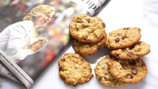 Bánh quy của nhà Clinton.