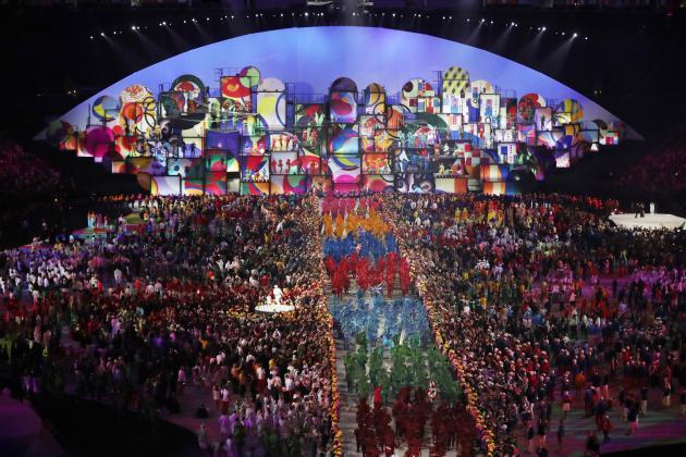 Olympic 2016 sẽ có một lễ bế mạc đẹp mắt không kém lễ khai mạc