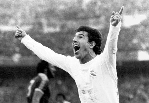 Juanito - người hùng của Real Madrid trong màn lội ngược dòng năm 1987 (Ảnh: Twitter/Real Madrid)