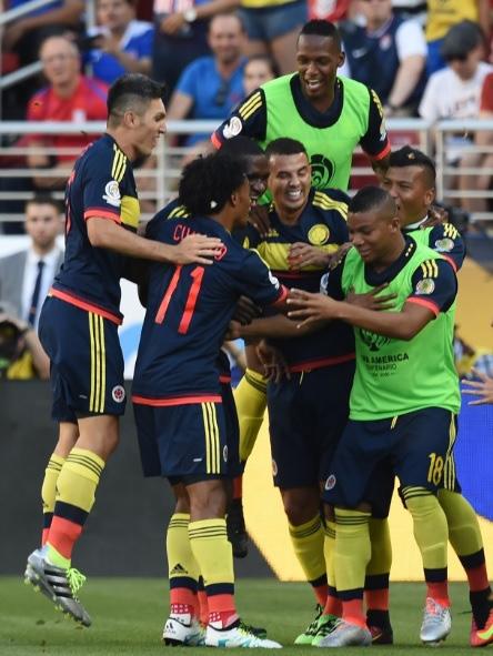 ĐT Colombia giành trọn 3 điểm trong trận đấu ra quân tại Copa America 2016