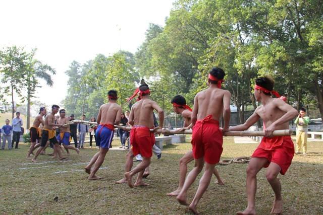 Nhiều hoạt động văn hóa đặc sắc của các dân tộc được thể hiện tại đây