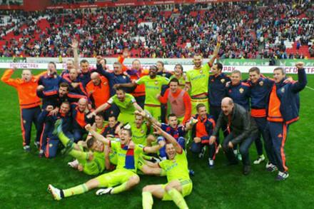 CSKA đăng quang ở giải VĐQG Nga sau khi đánh bại Rubin Kazan trên sân đối phương với tỉ số 1-0 ở vòng cuối, qua đó hơn đội xếp thứ hai 2 điểm.