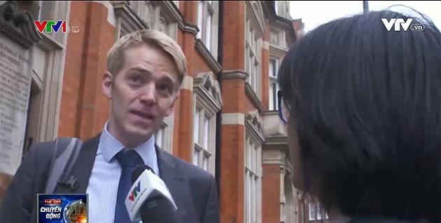 Ông Matt Satlden, nhân viên văn phòng, London