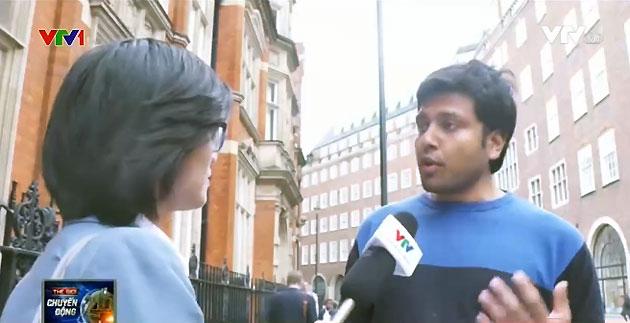 Ông Prateek Gupta, nhân viên ngân hàng, London