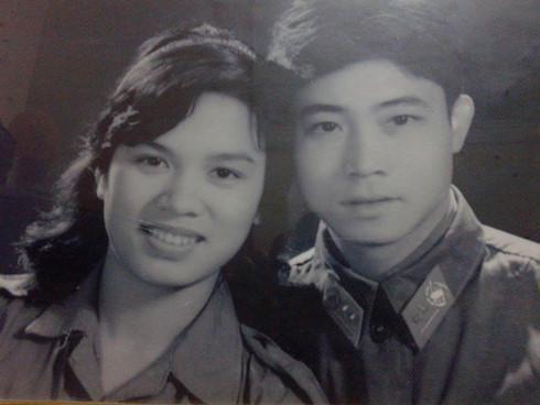 Đại tá Lê Đại Hiệp và đạo diễn Bùi An Ninh thời trẻ