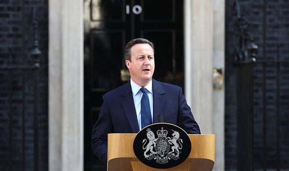 Thủ tướng Anh David Cameron tuyên bố ý định từ chức