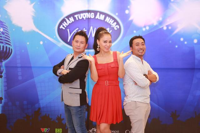 Bộ ba quyền lực của Vietnam Idol 2016 (Ảnh: BHD)
