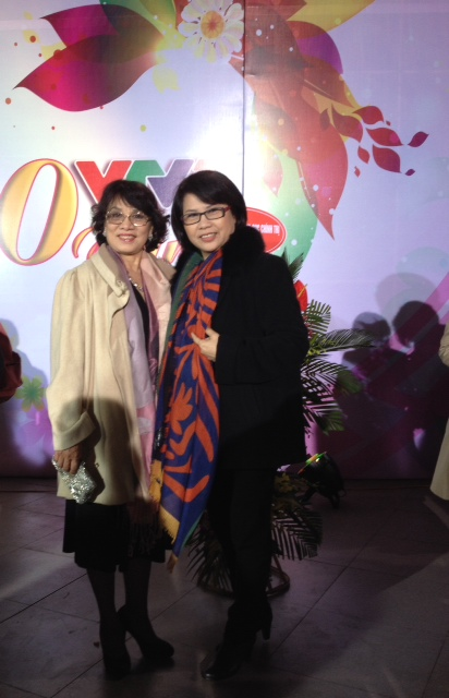 Đạo diễn An Ninh và nhà báo Huyền Thanh