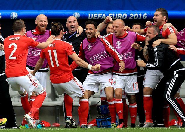 Wales được xem là tân binh ấn tượng nhất tại các VCK EURO. Ảnh: Getty