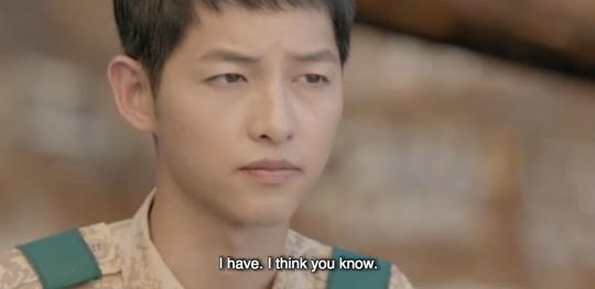 Tất nhiên, đại úy Yoo Shi Jin biết cảm giác bị mê hoặc là thế nào...