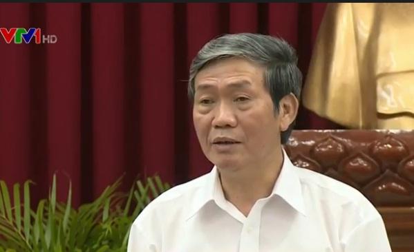Đồng chí Đinh Thế Huynh tại buổi làm việc với Thành ủy Cần Thơ