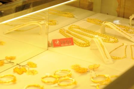 Giá vàng miếng SJC được Tập Đoàn Vàng bạc đá quý DOJI đã bật tăng trong sáng nay (Ảnh: Doji.vn)