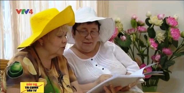 Du khách Nga tại Việt Nam.