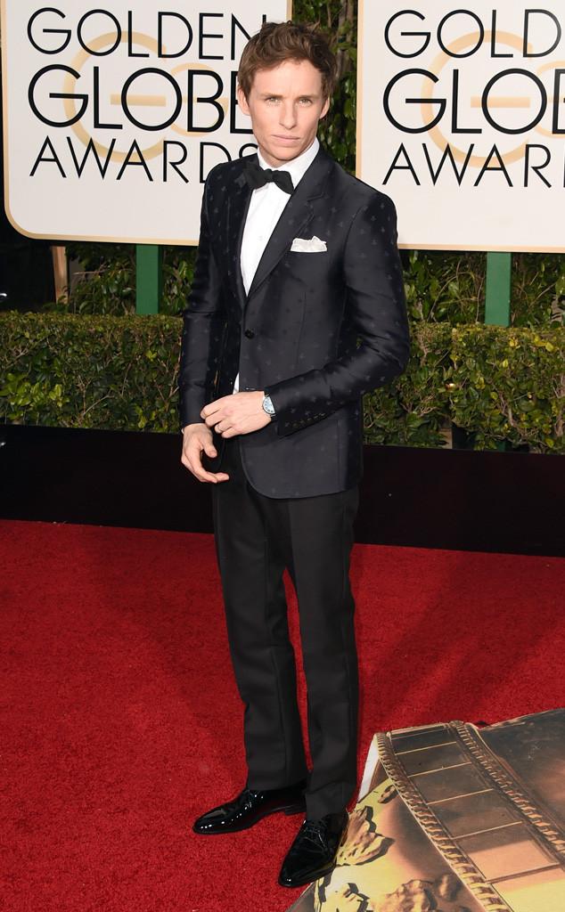 Nam diên viên Eddie Redmayne bảnh bao, thanh lịch với bộ vest của Gucci.