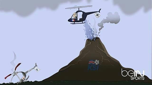 Chủ nhà Pháp dùng trực thăng Giroud hạ hỏa ngọn núi lửa Iceland ở tứ kết EURO 2016.