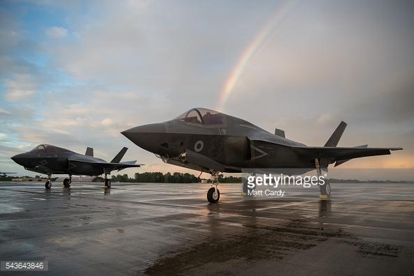 Máy bay chiến đấu RAF Lockheed Martin F-35B