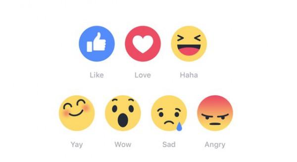 Reactions cho phép người dùng thể hiện cảm xúc đa dạng hơn trên Facebook