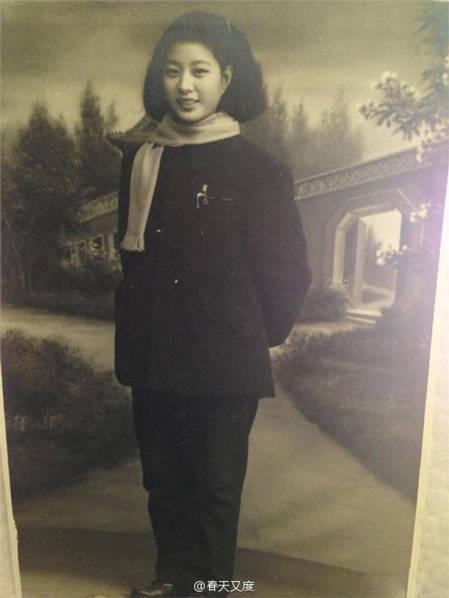 Bà nội Phạm Băng Băng thời trẻ rất xinh đẹp