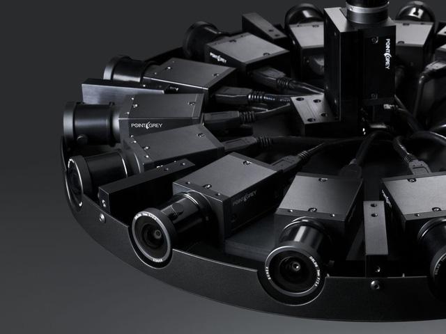 Kết cấu chi tiết của chiếc camera 360 độ mới ra mắt. (Ảnh: Genk)