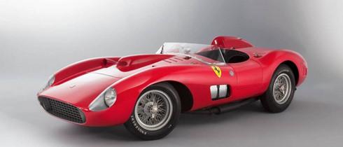 Chỉ có 4 chiếc Ferrari 335 Spider Scaglietti được sản xuất