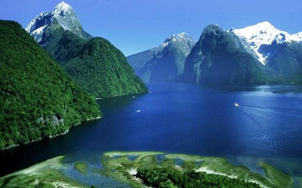 Công viên quốc gia Fjordlands, Đảo Nam, New Zealand