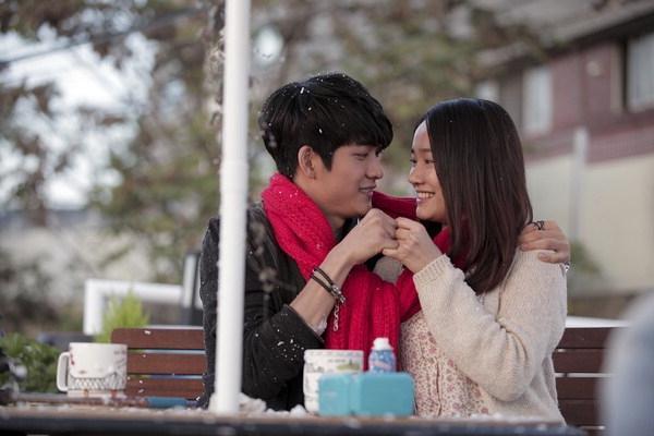 Kang Tae Oh và Nhã Phương trong Tuổi thanh xuân 1.