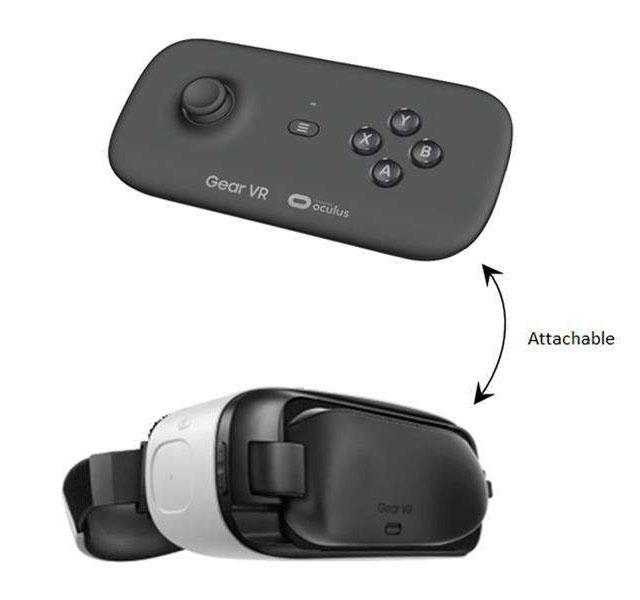 Thiết bị có thể thay thế vị trí của miếng nhựa giữ smartphone trên Gear VR