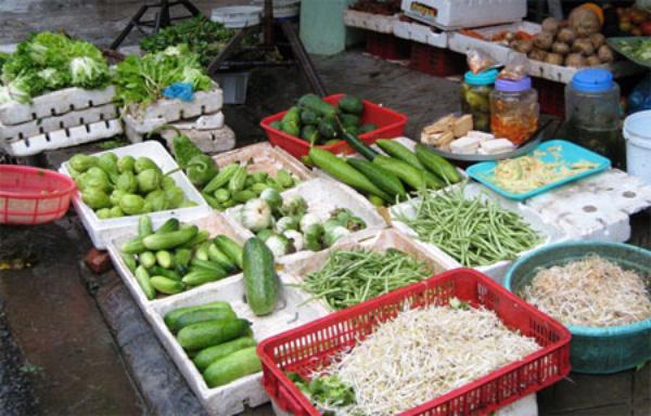 Giá rau xanh tại Hà Nội đã tăng mạnh sau bão số 3 (Ảnh minh họa, ảnh: Dân Trí)