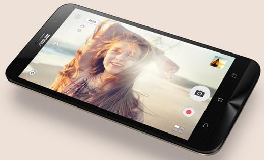 Màn hình 4.5 inch độ phân giải 854x480 trên ZenFone Go